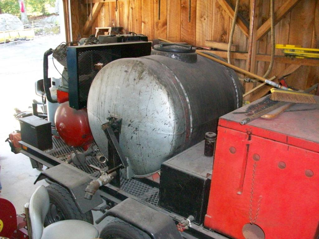 Used Equipment For Sale - Asphalt Sealcoating Equiptment, Products